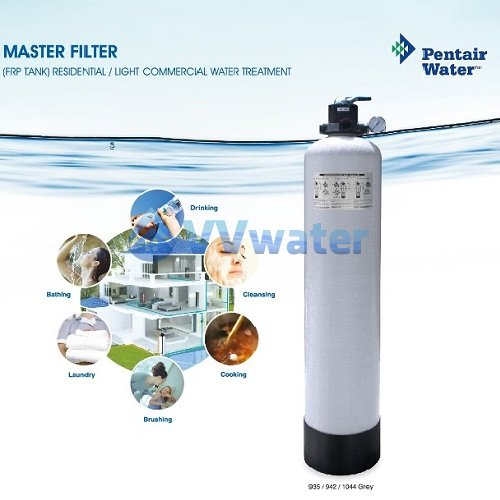 Pentair 942grey pentair frp master filtration system 09 42 for Pentair water filtration