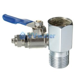 Ro Feed Water Adapter 1/2' to 1/4' Ball Valve
