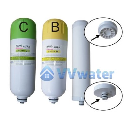 Bio Aura Replacement Filter Ceramic A + Filter B + Filter C
