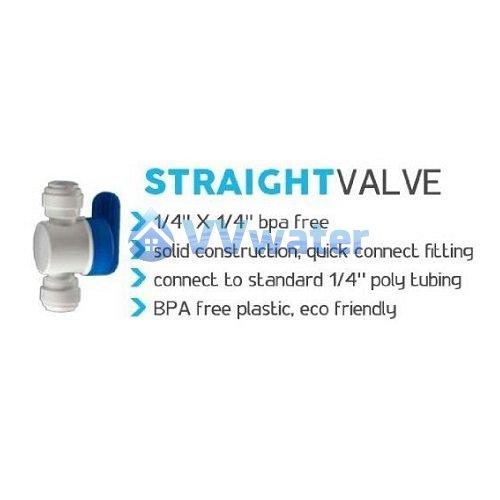 BV-101 1/4' Ball Valve Water Filter Stopper