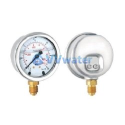 PN11 Stainless Steel Oil Filled Pressure Gauge