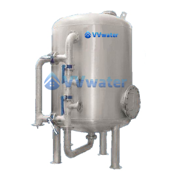 Industrial Centralized Stainless Steel Multimedia Water Filter System