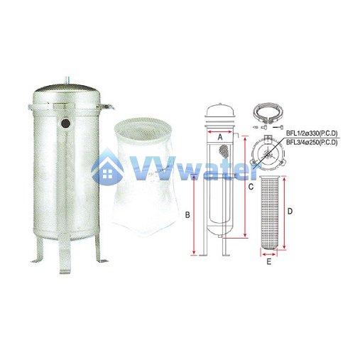 Commercial Use Bag Filter System