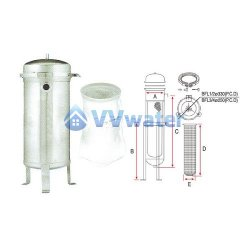 Commercial Use Bag Filter System